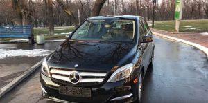 Обзор Mercedes B-Class Electric Drive 2014 от Артура Васильева